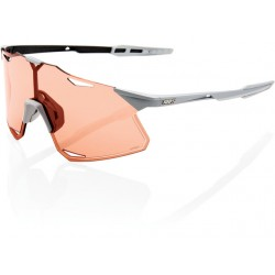 100% Hypercraft Gafas, matte stone grey/hiper coral lens